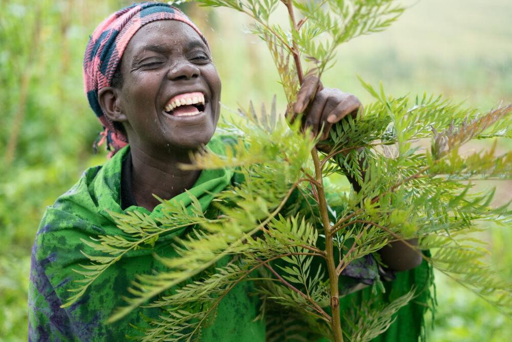 Marie Claire Kabaganwa. Foto Elin Larsson.
